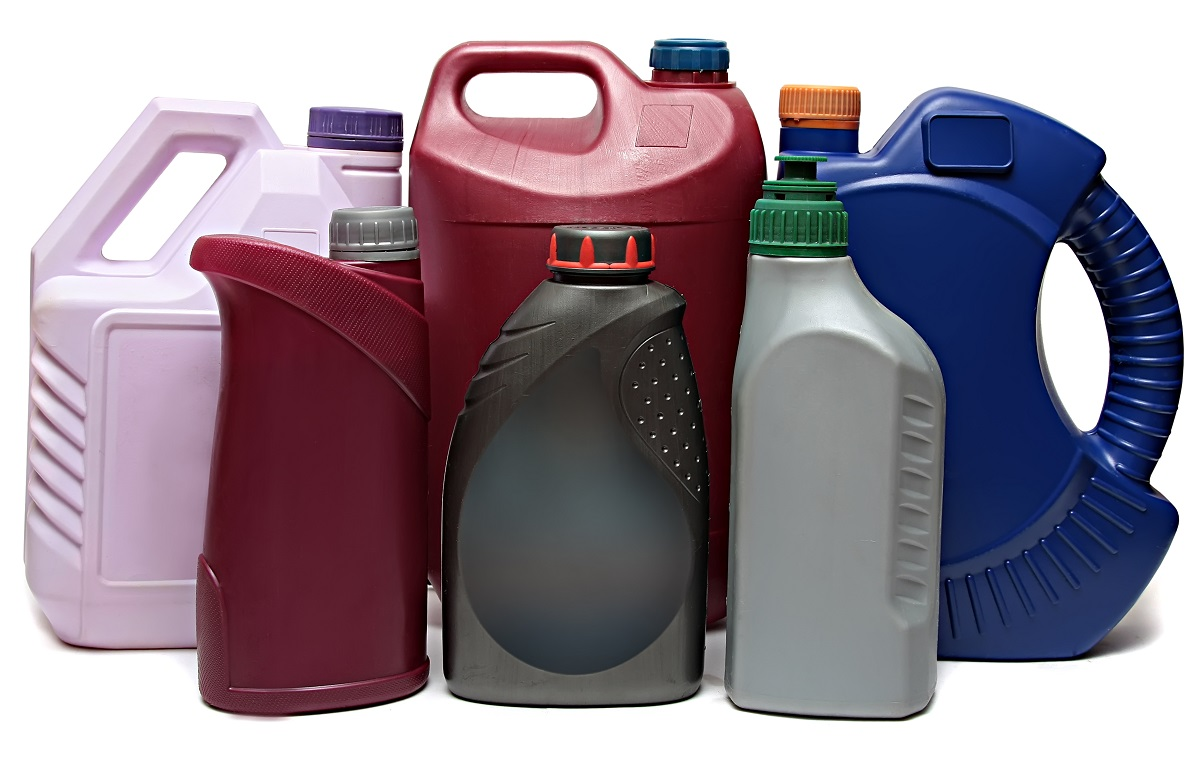 plastic bottles for auto