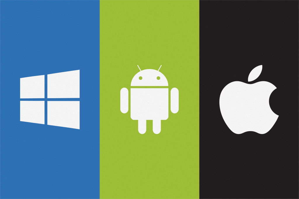 windows android and apple