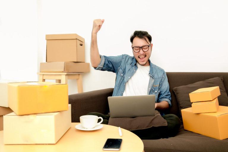 entrepreneur selling online